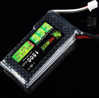 LION 7.4V 2S 1500mah 25C Lipo Battery Power for Tamiya HSP RC Car Tamiyas Mode