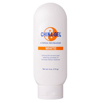 China Gel - Topical Muscle Pain Reliever Herbal Therapeutic Gel 6oz Bottle