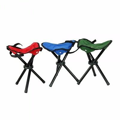 Portable Folding Outdoor Camping Fishing Picnic Stool Garden Rest Chair Seat