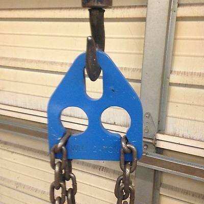 Chain adjuster lifting hoisting engine lift load balancer adjusting sling 2 Ton