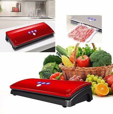Deluxe Automatic Food Sealer Perfect Vacuum Sealing System 2016 New