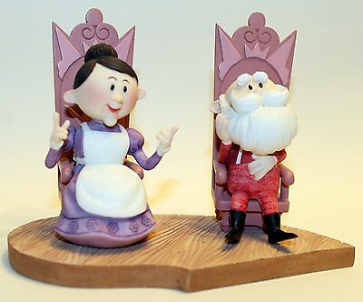Enesco Rudolph And The Island Of Misfit Toys Santa Sitting. Have a Holly, Jolly