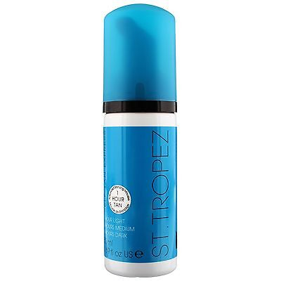 NEW St Tropez Self Tan Express Bronzing Mousse 50ml FREE P&P