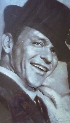 Frank Sinatra Haiyan Art Print Artist Signed in Protective Wrap