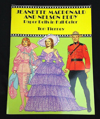1992 Jeanette MacDonald And Nelson Eddy Tom Tierney Paper Dolls Uncut