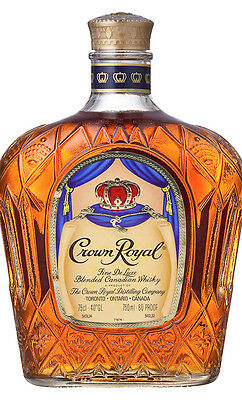 Crown Royal Canadian Whisky (750ml Boxed)