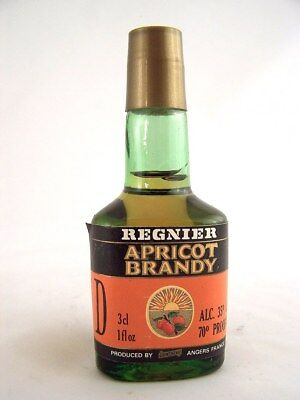 Miniature circa 1986 REGNIER APRICOT BRANDY Isle of Wine