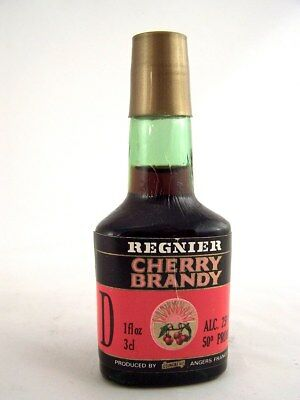 Miniature circa 1986 REGNIER CHERRY BRANDY Isle of Wine