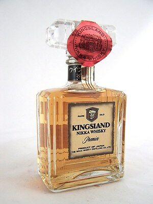 Miniature circa 1990 NIKKA 'KINGSLAND' Premier Japanese Whisky Isle of Wine