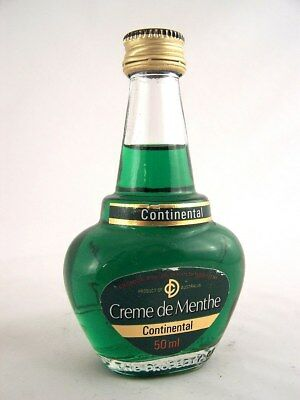 Miniature circa 1979 CONTINENTAL CREME DE MENTHE Isle of Wine
