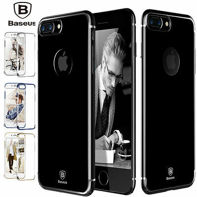 iPhone 7 7 Plus Case,[Ultra-Hybrid] Clear Shockproof Hard Bumper Cover For Apple