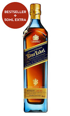 Johnnie Walker Blue Label Scotch Whisky (750ml Boxed)