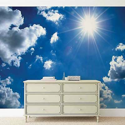 Clouds Sky WALL MURAL PHOTO WALLPAPER (1991DK)