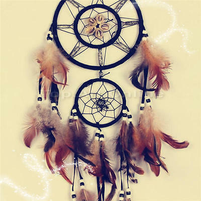 Handmade Dream Catcher With feathers Wall Hanging Decoration Decor Ornament Gift
