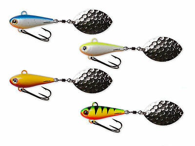 Spinmad Jag / Spinning Tail / 35mm / perch, pike, zander, asp, trout / COLORS