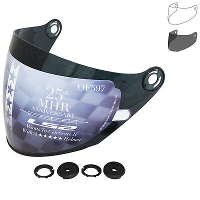 LS2 OF597 Visor Open Face Jet Scooter Helmet Tinted Anti-UV Replacement Shield