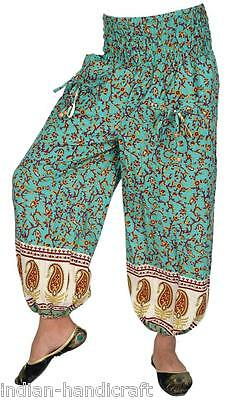 10 Cotton Printed Baloon Trousers Boho Gypsy Harem Pants  TR68