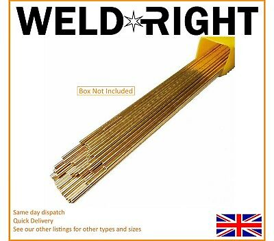 Weldright - Sifbronze No. 1 Brazing Welding Rods 2.4mm x 20 Rods (300mm)