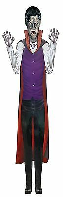 """Vampire 60"""" Jointed Cut Out, Halloween Party Accessory Prop/Room Decoration #CA"""