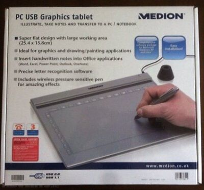 MEDION 85637 GRAPHICS TABLET DRIVERS (2019)