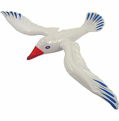 Inflatable Seagull 76cm, Bird, Blow Up, Party Prop #CA