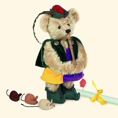 Teddy Hermann Pied Piper of Hamelin Ltd Edition Collectable Bear Gift, 118229