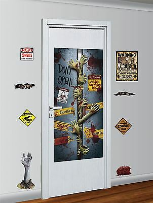 Zombie Decor Kit, Halloween Party Accessory Prop/Room Decoration #CA