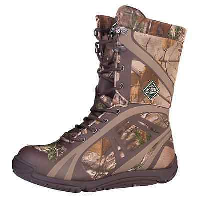 Muck Boots Pursuit Shadow Mid Lightweight Hunting Boot Men's Real Tree- PSM-RTX
