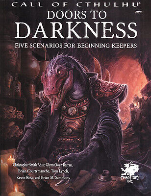 Call of Cthulhu: PRESALE Doors to Darkness supplement chaosium New