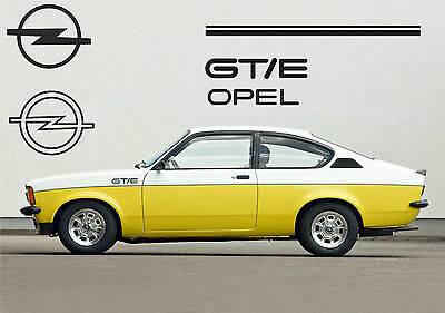 Kit Complet De  Reproduction  Adhesifs  Opel Kadett Gte
