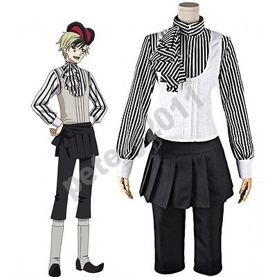 Custom-made Kuroshitsuji Black Butler Book of Circus Dagger Cosplay Costume