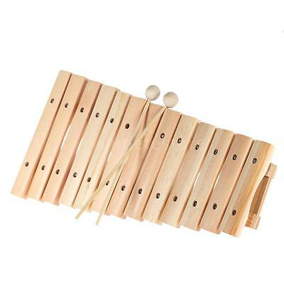Musical Xylophone Piano Wooden Instrument Music Toys with 2 Mallets A2O5