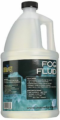 Chauvet Fog Fluid Gallon High Output Long lasting Water Based Fog Non Toxic New