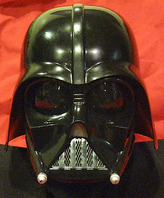 Darth Vader Helmet & Mask Set - No Chest Box - Hasbro - Used Usa Free Fast Ship