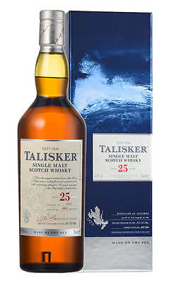 Talisker 25YO Single Malt Scotch Whisky 700ml (Boxed)
