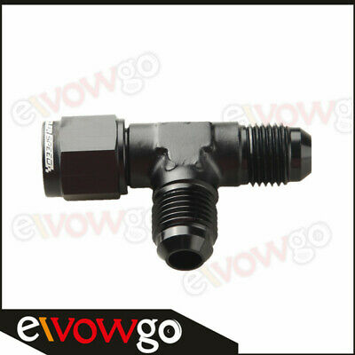 6AN AN-6 Male To 6AN Male To 6AN Female Pipe Flare Tee T Piece Fuel Fitting