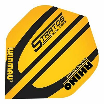 12 WINMAU Dart Darts Flights Flight Dartflights Rhino long life Stratos 6905.168