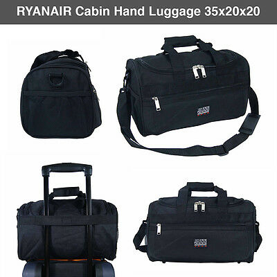 Super Lightweight Ryanair Approved Second Hand Luggage Cabin Holdall Travel Bag