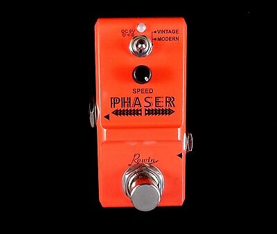 Rowin Ln-313 Nano Phaser Guitar Effects Pedal With True By-Pass - Small Size