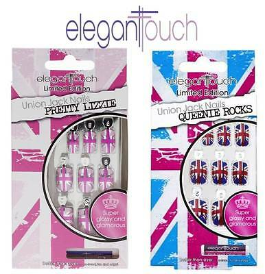 Elegant Touch Limited Edition Glue On False Nails Brand New **choose Type**