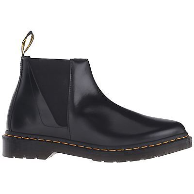 Dr.Martens Bianca Polished Smooth Chelsea Black Womens Boots
