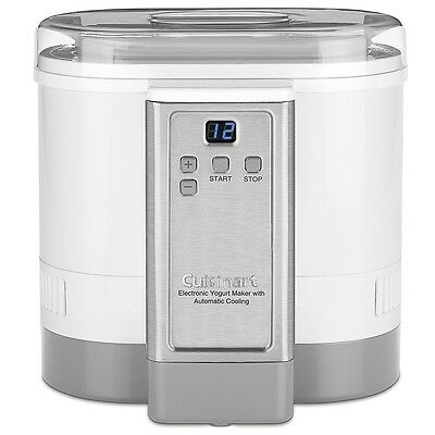 Cuisinart - Electronic Yogurt Maker with Automatic Cooling