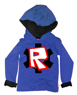Stardust Ethically Made Kids Boys Girls Childrens Roblox  Hoody Hoodie -  Blue