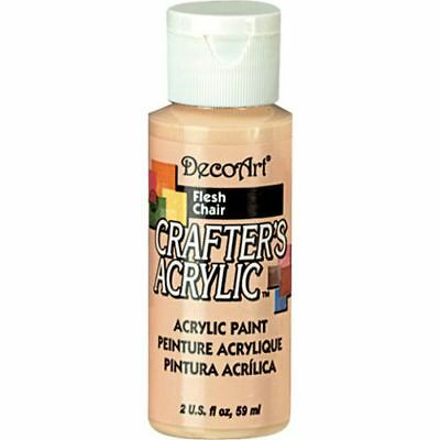 DecoArt Natural Beige (Flesh) Crafters Acrylic 2oz
