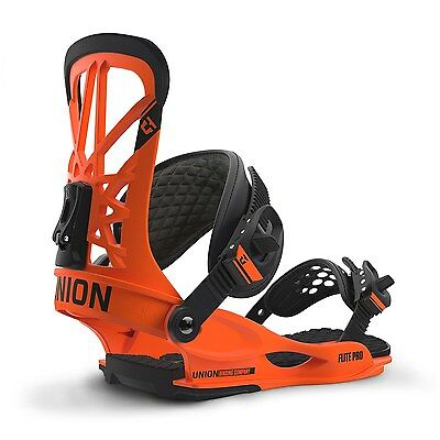 Union - Flite Pro | 2017 - Mens Snowboard Bindings - New | Orange