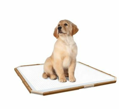 Puppy Toilet Training Pad Holder Tray Simple Solution Dog Crate  Travel