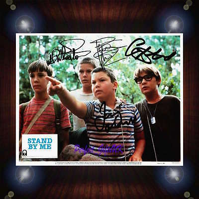 Stand By Me 1986 Cast Signed Autographed Framed Photo/Canvas Print  O'Connell+