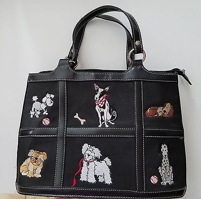 Purse with dogs (Bulldog, Poodle, Dalmatians & more)