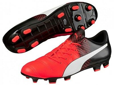 PUMA MEN'S EVOPOWER 4.3 AG Soccer Cleats (Red) 103585 03
