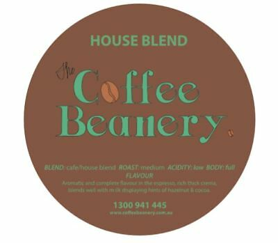 Coffee Beanery House Blend Roasted Coffee Beans. 5 Kilo